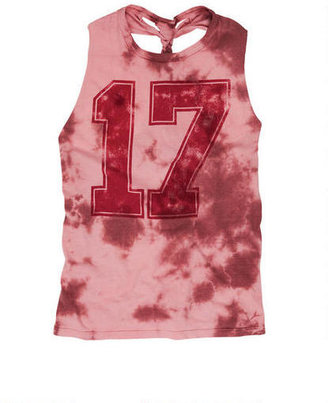 Delia's Tie-Dye 17 Braid Back Tank