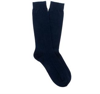 J.Crew Ribbed cotton dress socks