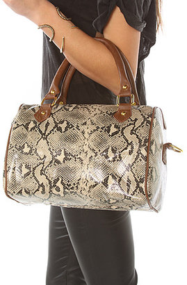 *MKL Accessories The Snake Print Duffle Bag