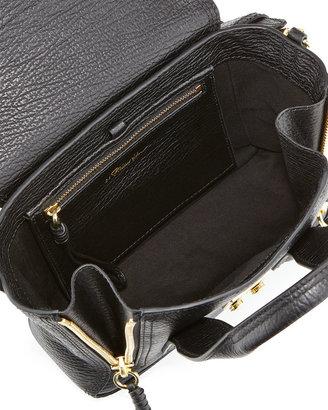 3.1 Phillip Lim Pashli Mini Zip Satchel Bag, Black