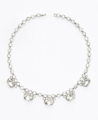 Ann Taylor Crystal Drop Necklace