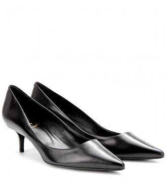 Roger Vivier Decollete Privilege leather pumps