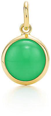 Tiffany & Co. Paloma Picasso®:Chrysoprase Dot Charm