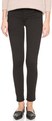 J Brand 811 Photo Ready Mid Rise Skinny Jeans $185 thestylecure.com