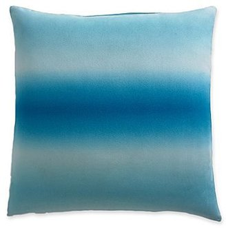 Pantone UniverseTM Blue Aster Ombre Square Pillow
