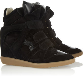 Isabel Marant The Bekket leather and suede sneakers
