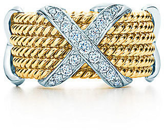 Tiffany & Co. Schlumberger®:Rope Six-row X Ring