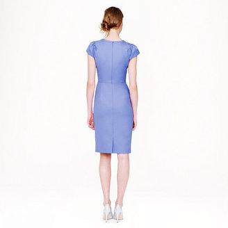 Super Puff-sleeve dress in 120s