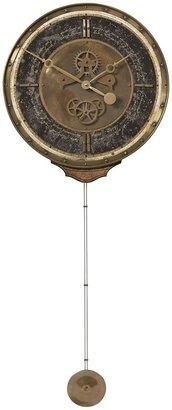 "Uttermost Leonardo Chronograph Clock 3.875 x 18 x 45"", Black"