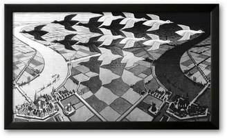"Art.com Day and Night"" Framed Art Print by M. C. Esche"