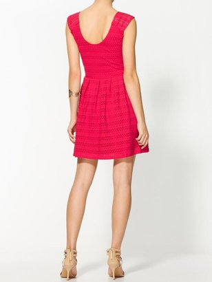 Eight Sixty Textured Dress