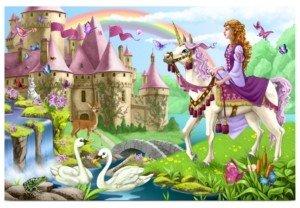 Melissa & Doug Kids Puzzle, Fairy Tale Castle 48-Piece Floor Puzzle