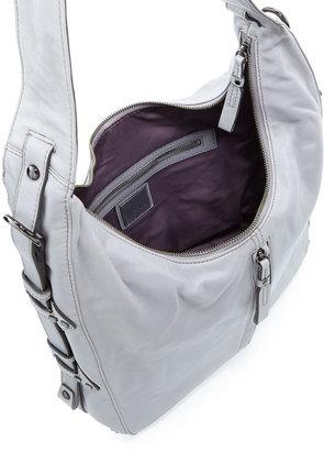 Kooba Cori Leather Zip Hobo Bag, Opal