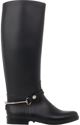 Barneys New York Women's Knee-High Rain Boots $195 thestylecure.com