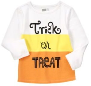 Crazy 8 Sparkle Trick Or Treat Tee