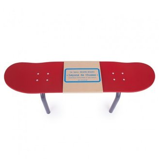 Leçons de Choses Red Skateboard Bench