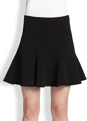 A.L.C. Connor Flared Stretch Knit Skirt