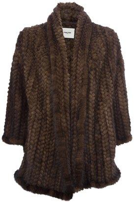 Max & Moi 'Hariel' mink fur coat