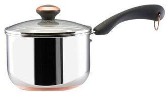 Paula Deen 2 Quart Covered Saucepan, Stainless Steel
