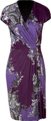 Etro Viscose Jersey Printed Dress