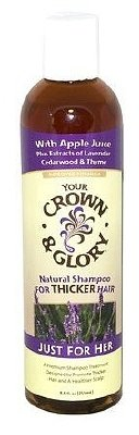 Your Crown & Glory Natural Hair Care Shampoo for Thicker HairLavender