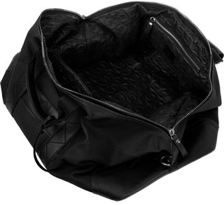 McQ by Alexander McQueen Leather-trimmed canvas weekend bag