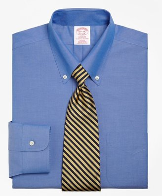 Brooks Brothers Madison Classic-Fit Dress Shirt, Non-Iron Button-Down Collar