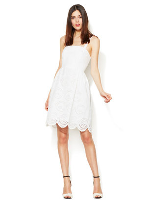 Marc by Marc Jacobs Palmetto Strapless Cotton Eyelet Dress