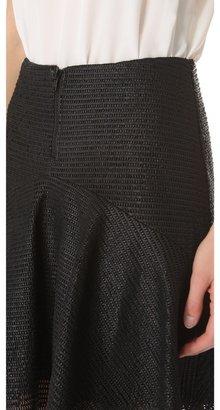 Cushnie et Ochs Leather Skirt