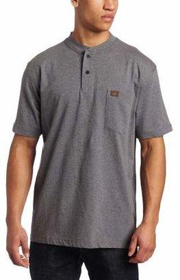 Wrangler RIGGS WORKWEAR Men's Short Sleeve Henley Tee
