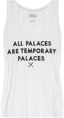 EACH X OTHER All Palaces are Temporary Palaces cotton tank