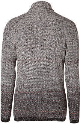 Missoni Wool-Camel Hair Double-Breasted Cardigan