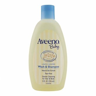 Aveeno Baby Wash & Shampoo 236 mL