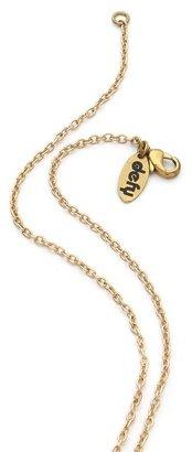 Monserat De Lucca Skull Flask Necklace