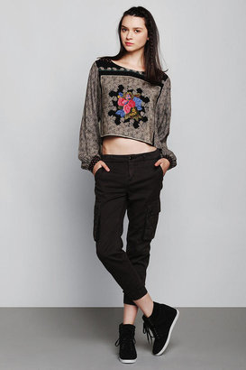 Urban Outfitters Vintage '90s Patchwork Cropped Top