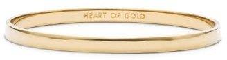 Women's Kate Spade New York 'Idiom - Heart Of Gold' Bangle