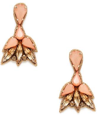 Deepa Gurnani Marquise & Teardrop Statement Earrings