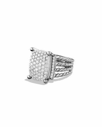 David Yurman Wheaton Ring with Diamonds $2,750 thestylecure.com
