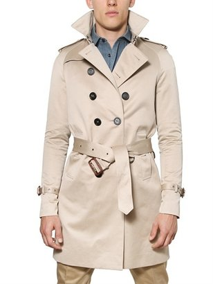 Burberry Cotton Satin Trench Coat