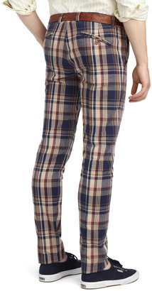 Brooks Brothers Slim Fit Plaid Pants