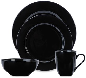 Bed Bath & Beyond Black Porcelalin Dinnerware Collection