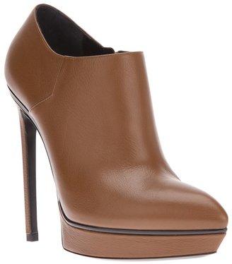 Saint Laurent platform ankle boot