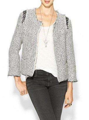 Miss Me Embellished Tweed Jacket
