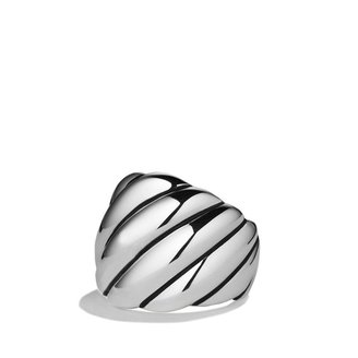 David Yurman Sculpted Cable Dome Ring