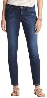 "LOFT Modern Skinny Ankle Jeans in Venice Blue Wash with 27 1/2"" Inseam"