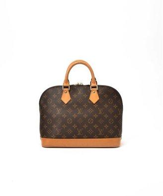 Louis Vuitton Pre-Owned: brown monogram canvas 'Alma' bag