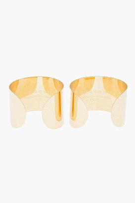 Maison Martin Margiela Gold Arm Cuffs