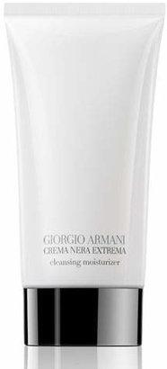 Giorgio Armani Crema Nera Extrema Foam Cleansing Moisturizer, 150ml $85 thestylecure.com