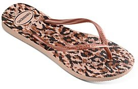 Havaianas Women's Animal Print Slim Flip-Flops