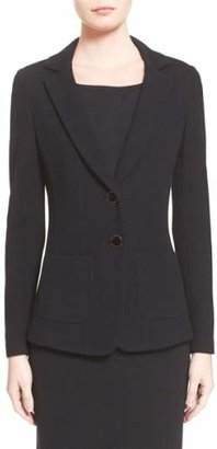 St. John Milano Pique Knit Jacket